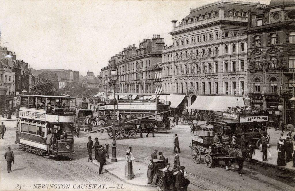 Newington Causeway, Southwark, London-1908
